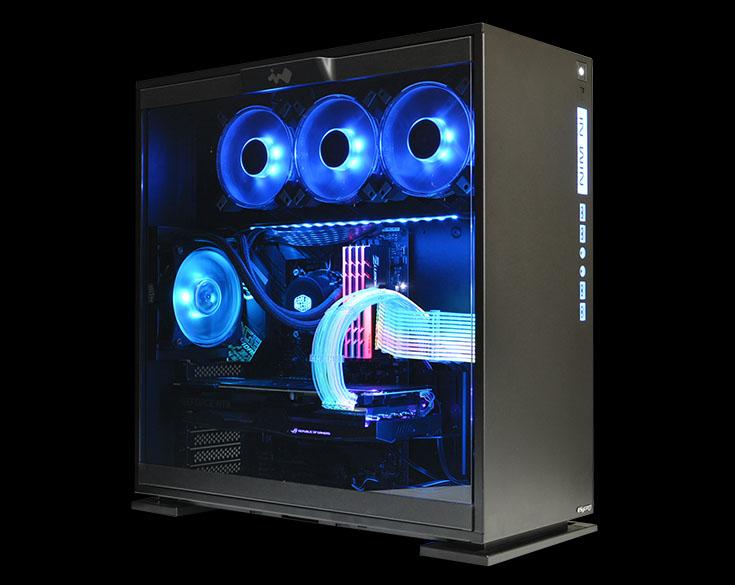 サイコム LED搭載ゲーミングPC「G-Master Luminous Z390 RGB」