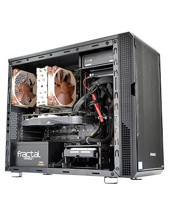 4ce23f7f4a 独自に検証を重ね、エアーフローによる冷却と静音のバランスを究極に考え、誕生した空冷システムPC「Silent-Master  Pro」シリーズに、Micro-ATXモデルの登場です!