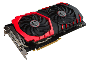 MSI GEFORCE GTX1060 GAMING X 6G