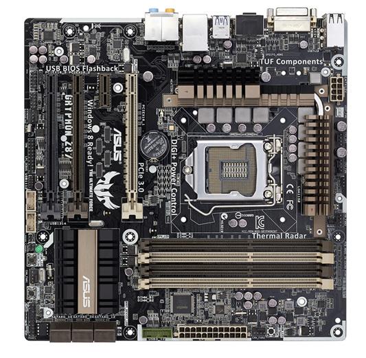 GRYPHON Z87  [拡大写真] LGA1150 MicroATXマザーボード Intel